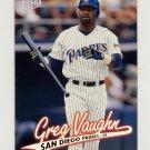 1997 Ultra Baseball #289 Greg Vaughn - San Diego Padres