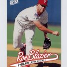 1997 Ultra Baseball #247 Ron Blazier - Philadelphia Phillies