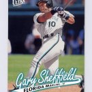 1997 Ultra Baseball #202 Gary Sheffield - Florida Marlins