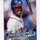 1997 Ultra Baseball #158 Fred McGriff - Atlanta Braves