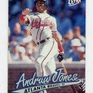 1997 Ultra Baseball #153 Andruw Jones - Atlanta Braves
