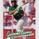 1997 Ultra Baseball #109 Geronimo Berroa - Oakland A's