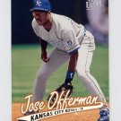 1997 Ultra Baseball #069 Jose Offerman - Kansas City Royals