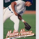 1997 Ultra Baseball #061 Melvin Nieves - Detroit Tigers