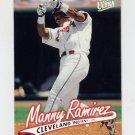 1997 Ultra Baseball #054 Manny Ramirez - Cleveland Indians