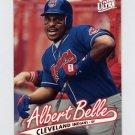1997 Ultra Baseball #046 Albert Belle - Cleveland Indians
