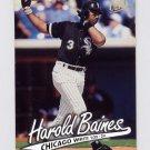 1997 Ultra Baseball #035 Harold Baines - Chicago White Sox