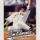 1997 Ultra Baseball #025 Jim Edmonds - California Angels