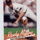 1997 Ultra Baseball #009 Randy Myers - Baltimore Orioles