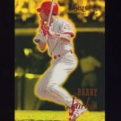 1995 Select Certified Baseball Mirror Gold #027 Barry Larkin - Cincinnati Reds