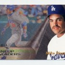 1996 Select Baseball #155 Mike Piazza LUL - Los Angeles Dodgers