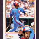 1983 Topps Baseball #420 Al Oliver - Montreal Expos