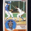 1983 Topps Baseball #282 Reggie Smith - San Francisco Giants