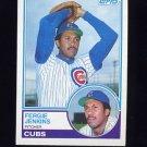 1983 Topps Baseball #230 Fergie Jenkins - Chicago Cubs