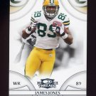 2008 Donruss Threads Football #050 James Jones - Green Bay Packers