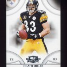 2008 Donruss Threads Football #110 Heath Miller - Pittsburgh Steelers
