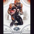 2008 Donruss Threads Football #125 Rudi Johnson - Cincinnati Bengals