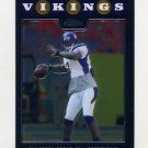 2008 Topps Chrome Football #TC030 Tarvaris Jackson - Minnesota Vikings