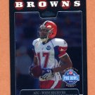 2008 Topps Chrome Football #TC147 Braylon Edwards AP - Cleveland Browns