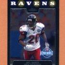 2008 Topps Chrome Football #TC150 Ed Reed AP - Baltimore Ravens