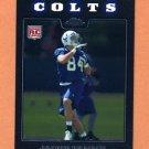 2008 Topps Chrome Football #TC220 Jacob Tamme RC - Indianapolis Colts