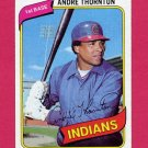1980 Topps Baseball #534 Andre Thornton - Cleveland Indians NM-M