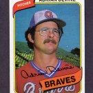 1980 Topps Baseball #528 Adrian Devine - Atlanta Braves