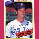 1980 Topps Baseball #524 Jim Wright - Boston Red Sox NM-M
