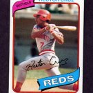 1980 Topps Baseball #516 Hector Cruz - Cincinnati Reds
