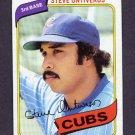 1980 Topps Baseball #514 Steve Ontiveros - Chicago Cubs