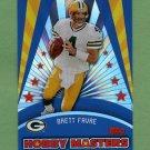 2006 Topps Football Hobby Masters #HM04 Brett Favre - Green Bay Packers