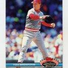 1991 Stadium Club Baseball #235 Tom Browning - Cincinnati Reds