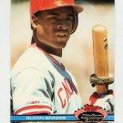 1991 Stadium Club Baseball #187 Glenn Braggs - Cincinnati Reds