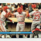 1991 Stadium Club Baseball #165 Chris Sabo - Cincinnati Reds