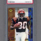 2000 Collector's Edge T-3 Retail #165 Peter Warrick RC - Cincinnati Bengals Graded PSA GEM MT 10