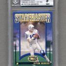 2000 Donruss Preferred Staremasters #SM8 Peyton Manning /1500 Graded BGS 9.0 MINT
