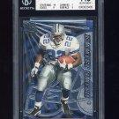 1997 Pacific Dynagon Silver #40 Emmitt Smith - Dallas Cowboys Graded BGS 7.5