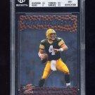 1997 Score The New Breed #18 Brett Favre - Green Bay Packers Graded BGS 9 MINT