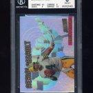 1997 Stadium Club Aerial Assault #AA10 Brett Favre - Green Bay Packers Graded BGS 8