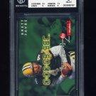 1995 Skybox Impact Countdown #C9 Brett Favre - Green Bay Packers Graded BGS 8