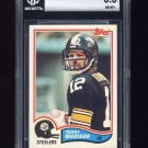 1982 Topps Football #204 Terry Bradshaw - Pittsburgh Steelers Graded BGS 8.5