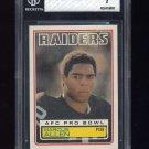 1983 Topps Football #294 Marcus Allen RC - Oakland Raiders Graded BGS 7