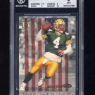 1993 Ultra Stars Football #1 Brett Favre - Green Bay Packers Graded BGS 9.0 MINT