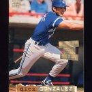 1994 Stadium Club Baseball Golden Rainbow #695 Alex Gonzalez - Toronto Blue Jays