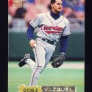 1994 Stadium Club Baseball Golden Rainbow #572 Omar Vizquel - Cleveland Indians
