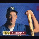 1994 Stadium Club Baseball #215 B.J. Surhoff - Milwaukee Brewers