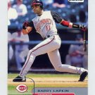 2002 Stadium Club Baseball #082 Barry Larkin - Cincinnati Reds