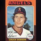 1975 Topps Baseball #635 Chuck Dobson - California Angels