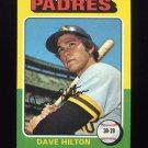 1975 Topps Baseball #509 Dave Hilton - San Diego Padres