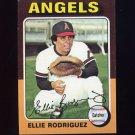 1975 Topps Baseball #285 Ellie Rodriguez - California Angels